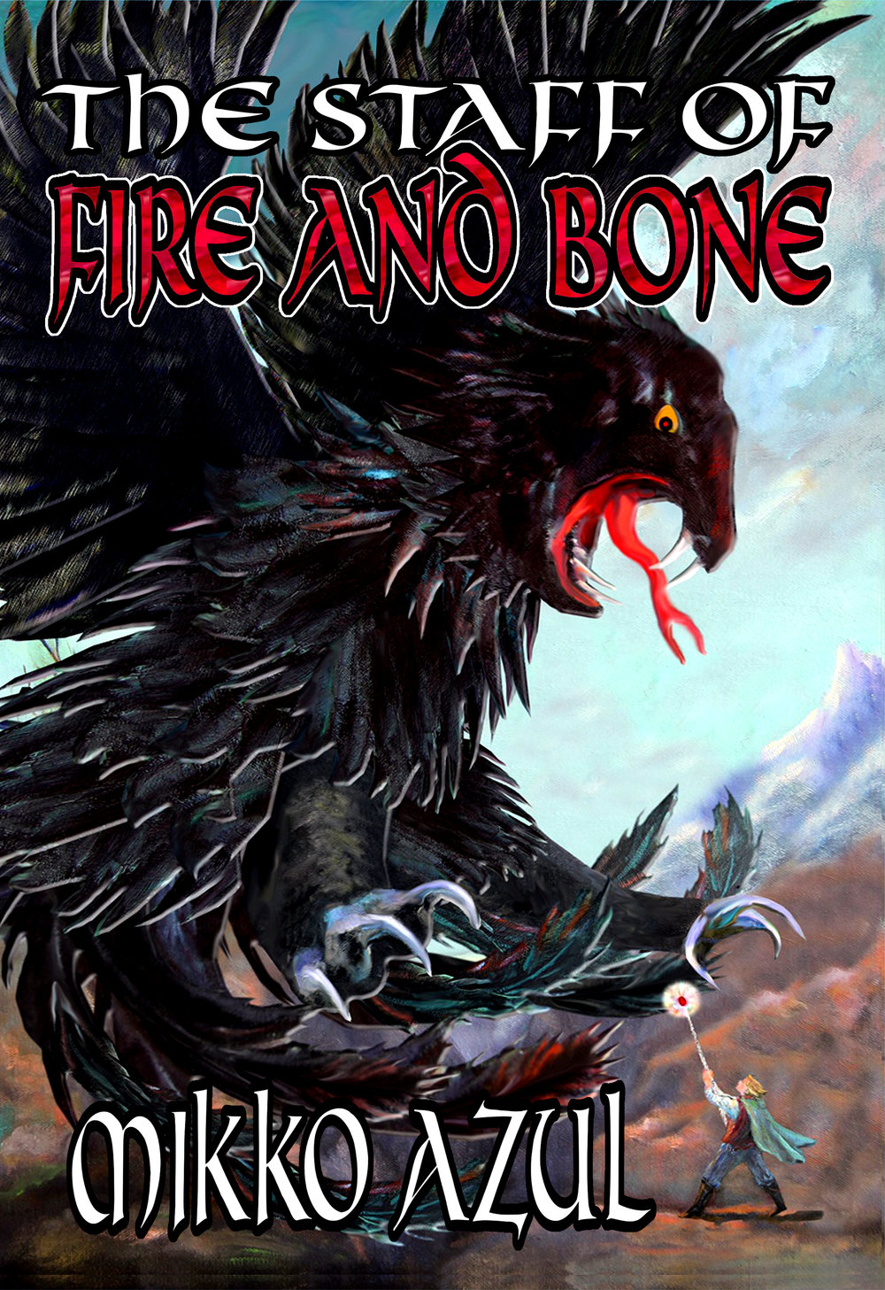 The+Staff+of+Fire+and+Bone+hardcover+front+cover