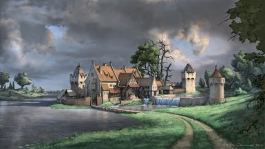 fantasy-watermill